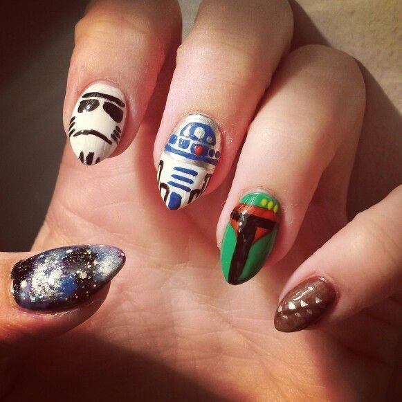 Star Wars nails http://sulia.com/my_thoughts/a8ce3ca8-9756-4127-8853-7d1c73e43d79/?source=pin&action=share&btn=small&form_factor=desktop&pinner=125515443