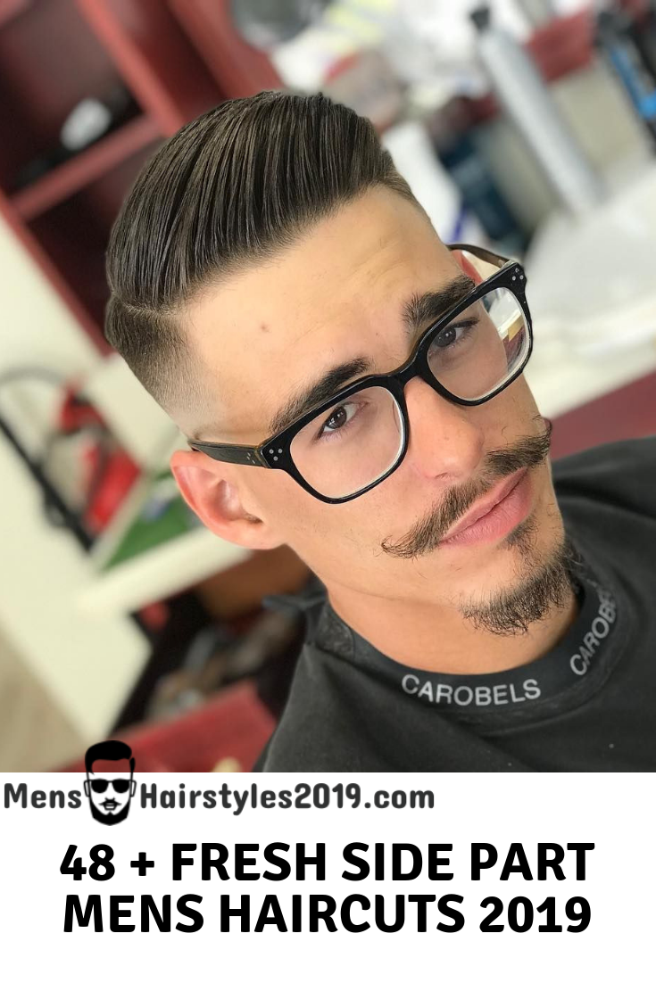 Men's haircut side part your next haircut    mens side part hairstyles  variations