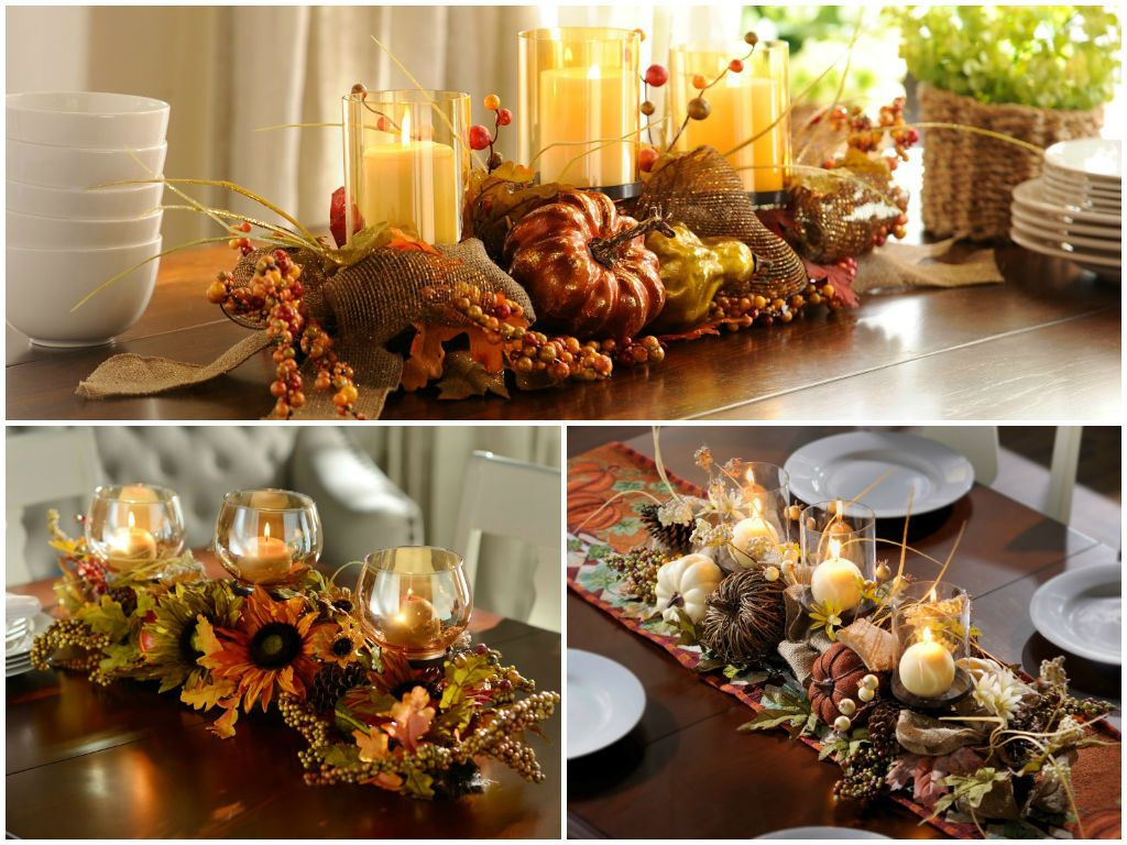 fall centerpieces for dining room table | Fall Dining: Table Decorating Ideas to Impress Your Guests ...