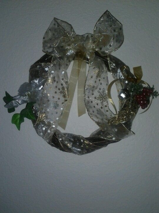 My first wreath