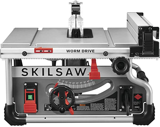 Skilsaw Spt99t 01 8 1 4 Portable Worm Drive Table Saw Powertools Tablesaw Tablesawforjobsite Tablesaws Skil Saw Portable Table Saw Table Saws For Sale