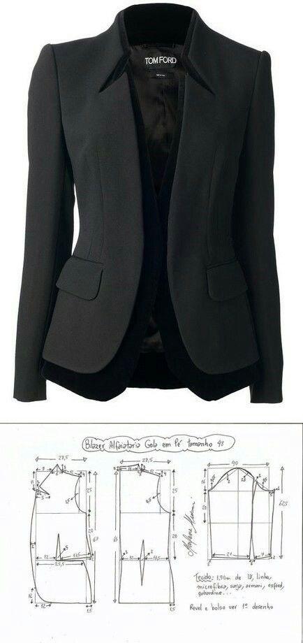 Jacket for women...<3 Deniz <3   roupa   Pinterest   Woman, Patterns ...