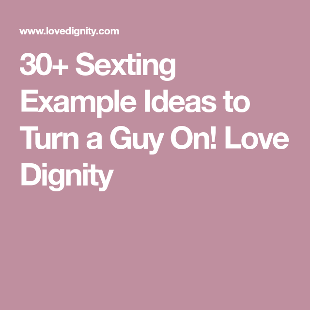 Sexting tips for guys pictures