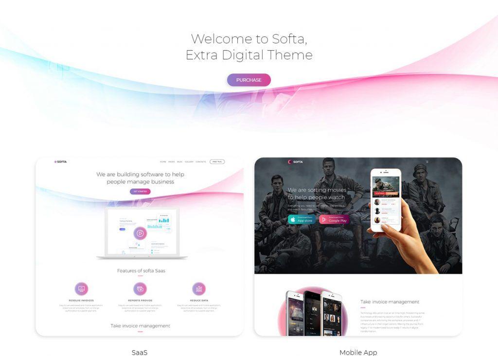 Top 15 Startup Company Saas Based Wordpress Theme Ease Template Startup Company Business Wordpress Themes Saas