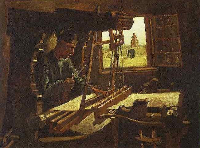 Tejedor Con La Ventana Abierta Pinturas De Van Gogh Van Gogh Arte Van Gogh