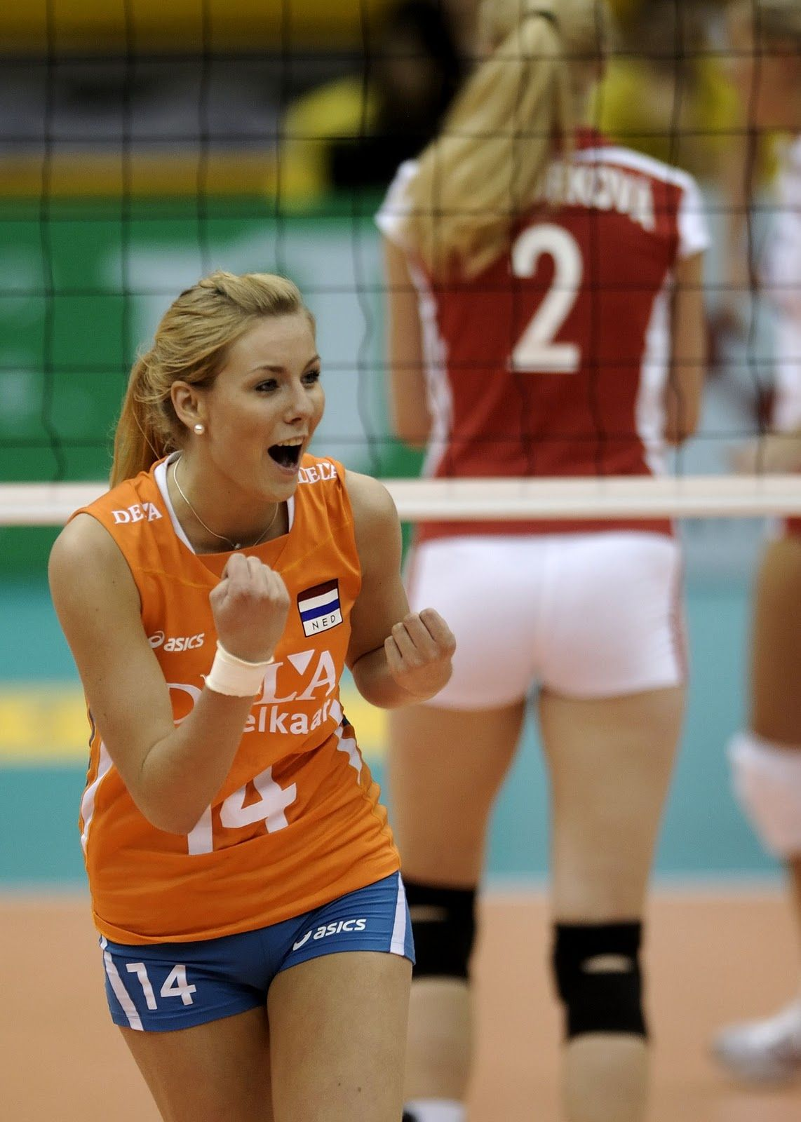Laura Dijkema Volleyball Player Setter Netherlands Team And Halkbank Ankara Turkey Volleybal Olympische Spelen Meisjes