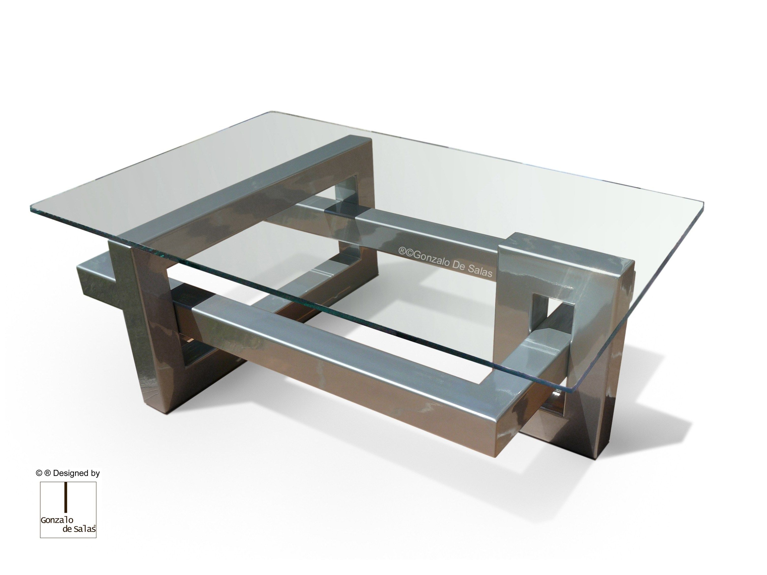 Download The Catalogue And Request Prices Of Ios Rectangular Coffee Table By Gonzalo De Salas Stainless Steel Coffee Table Metal Furniture Steel Coffee Table [ 2265 x 3020 Pixel ]