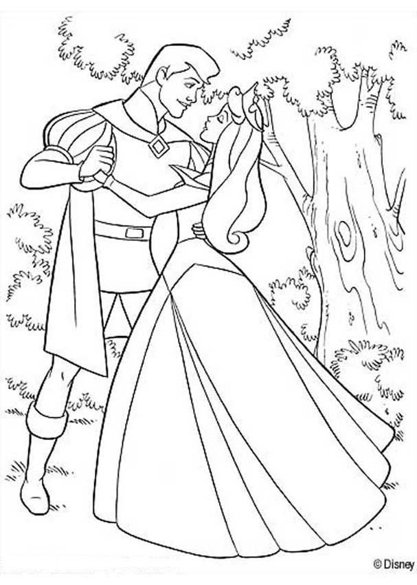 Famoso Disney Princess Aurora Para Colorear Imagen - Dibujos Para ...