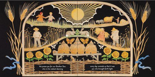 Saint Francis Of Assisis Canticle Of The Creatures Illustrated By