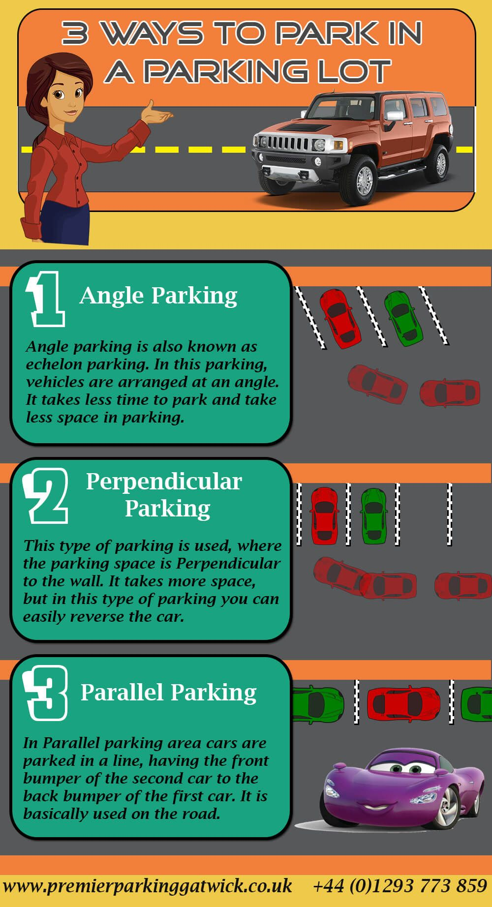 3 ways to park in a parking lot premier valet parking pinterest premier parking provides safe and secure airport parking near gatwick airport book online and secure your cheap holiday airport parking now kristyandbryce Images