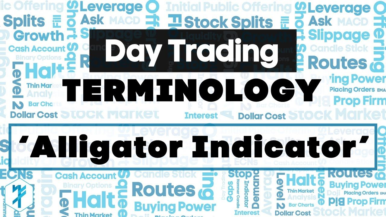 Alligator Indicator Definition Trading Terminology Stock Options Trading Day Trading Trading Courses