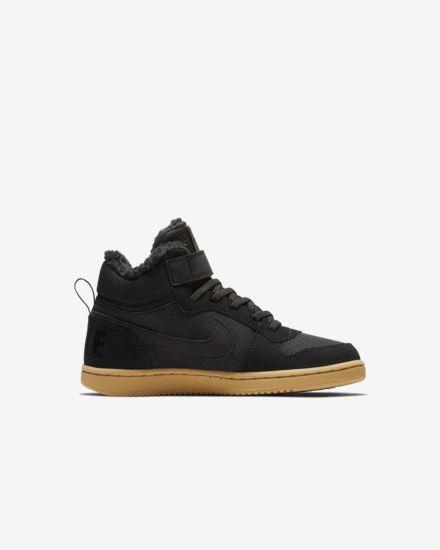separation shoes 1a61a 959c3 NikeCourt Borough Mid Winter Younger Kids Shoe