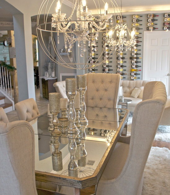 Glam Dining Room I Am Obsessed With The Table Chairs Glam Dining Room Vintage D Cha Dining Room Table Decor Farmhouse Dining Room Table Elegant Dining Room