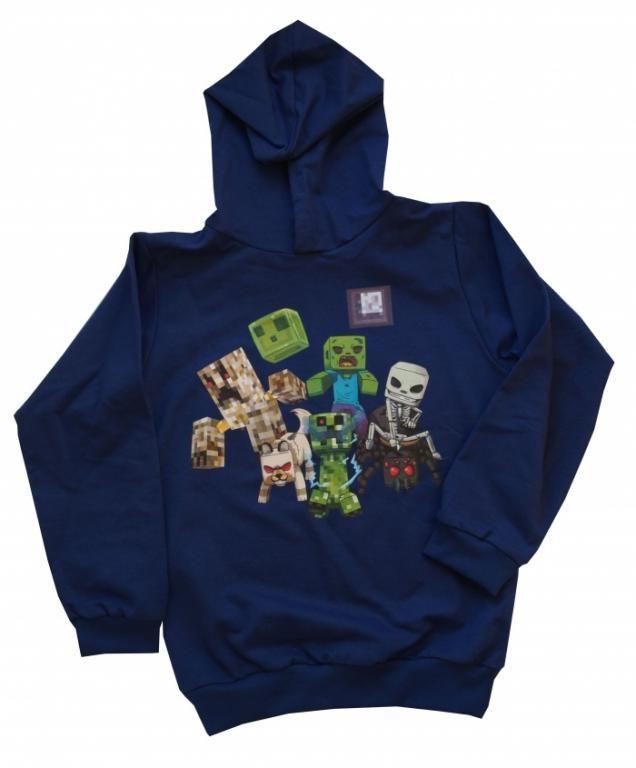 Bluza Dla Graczy W Minecraft A Polska 134 Wyprz Minecraft Hoodie Hoodies Hoodie Design