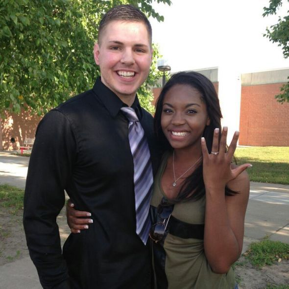 Black Women White Men Love >> Real Interracial Marriage Photos Black Woman White Man Couples