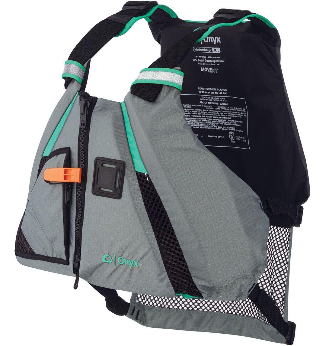 Onyx MoveVent Dynamic Life Vest in 2020 Life vest, Kayak
