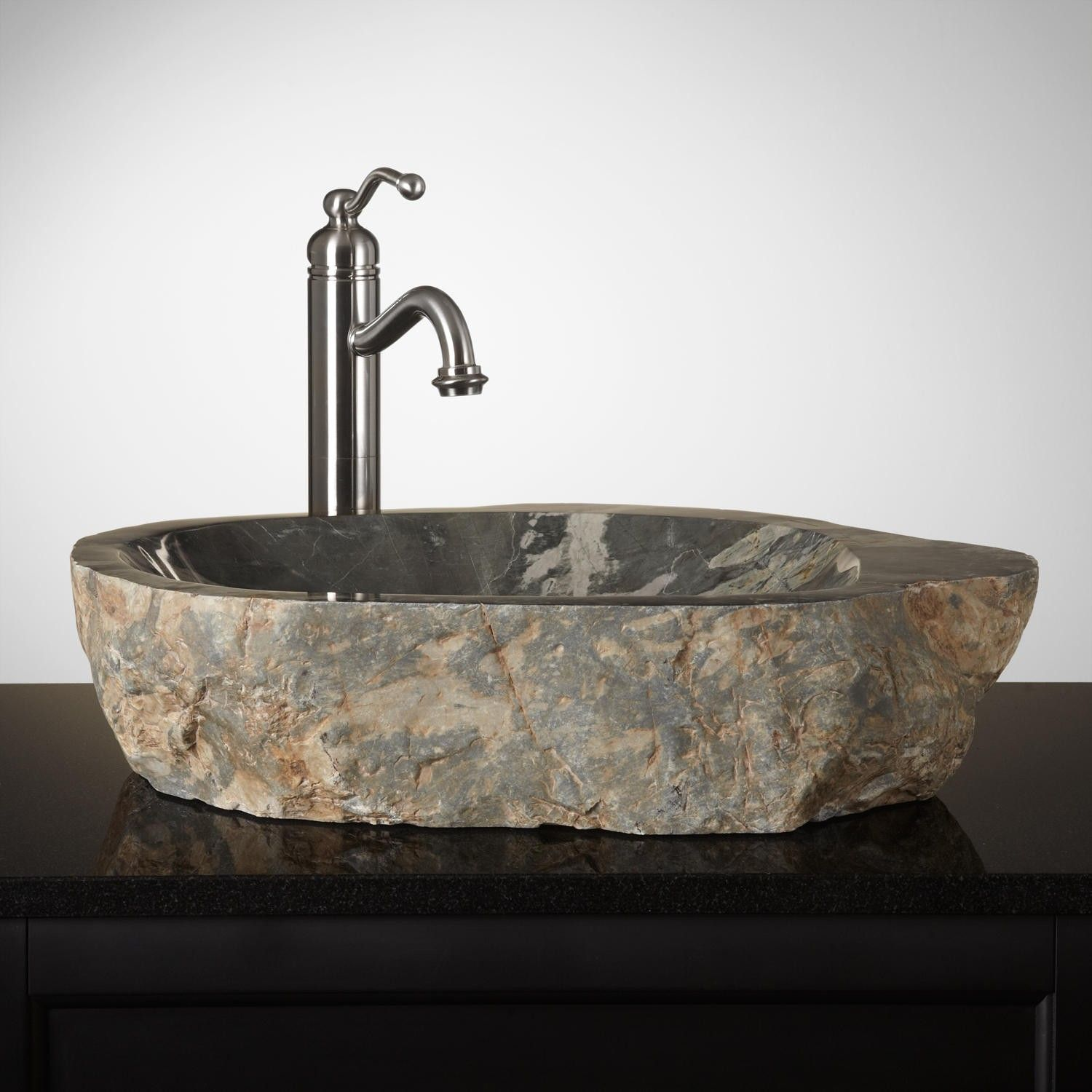 Havre Natural Stone Vessel Sink Ideas for The House