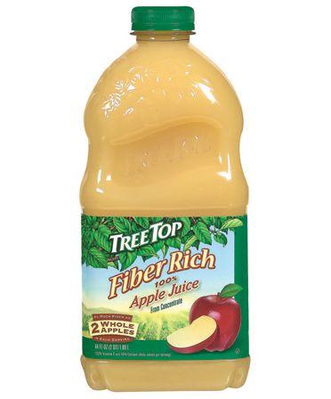 Apple Fiber Rich Juice, 64 oz. with 6 grams of fiber! | Organics ...