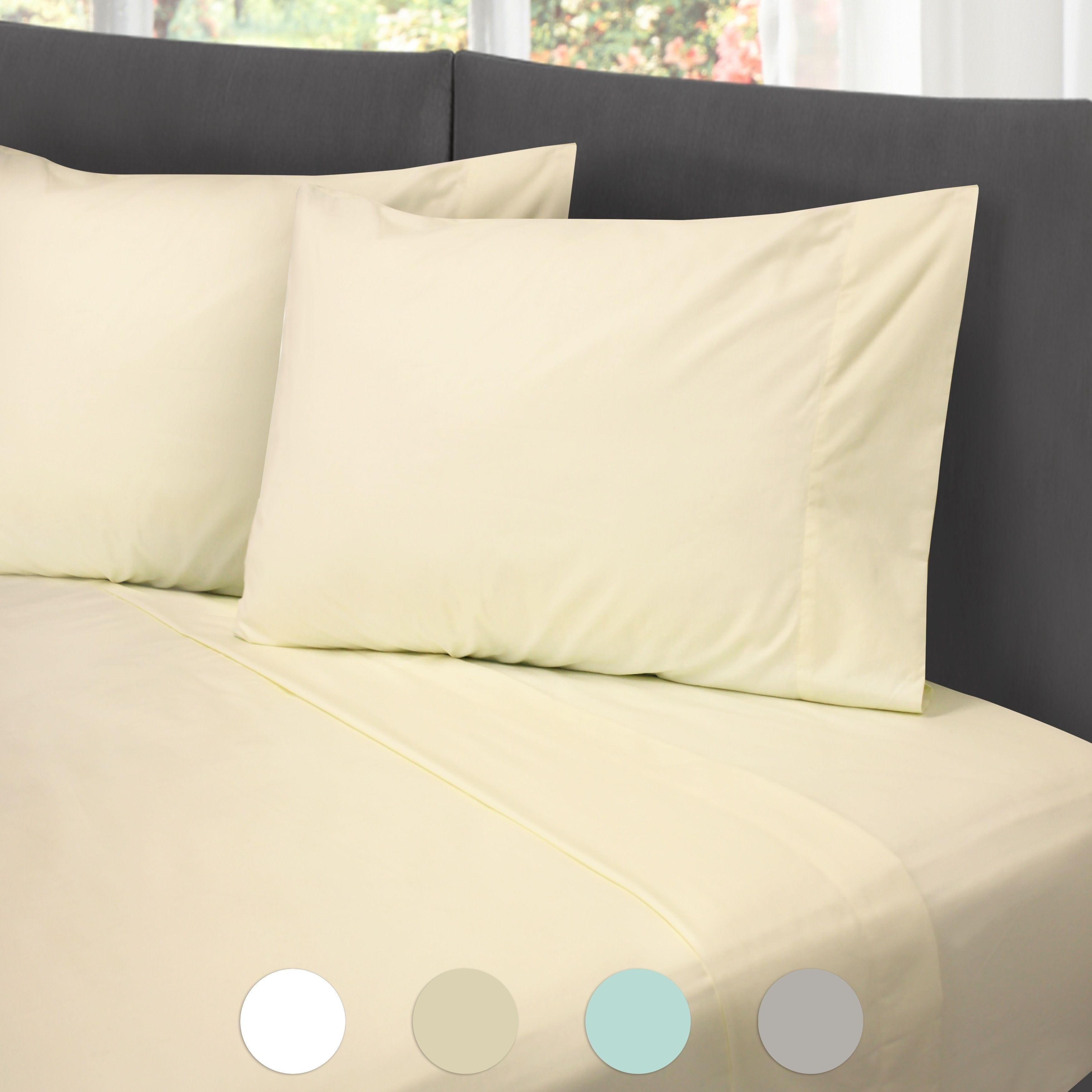 Hotel Laundry Cotton Rich Wrinkle Free Hypoallergenic