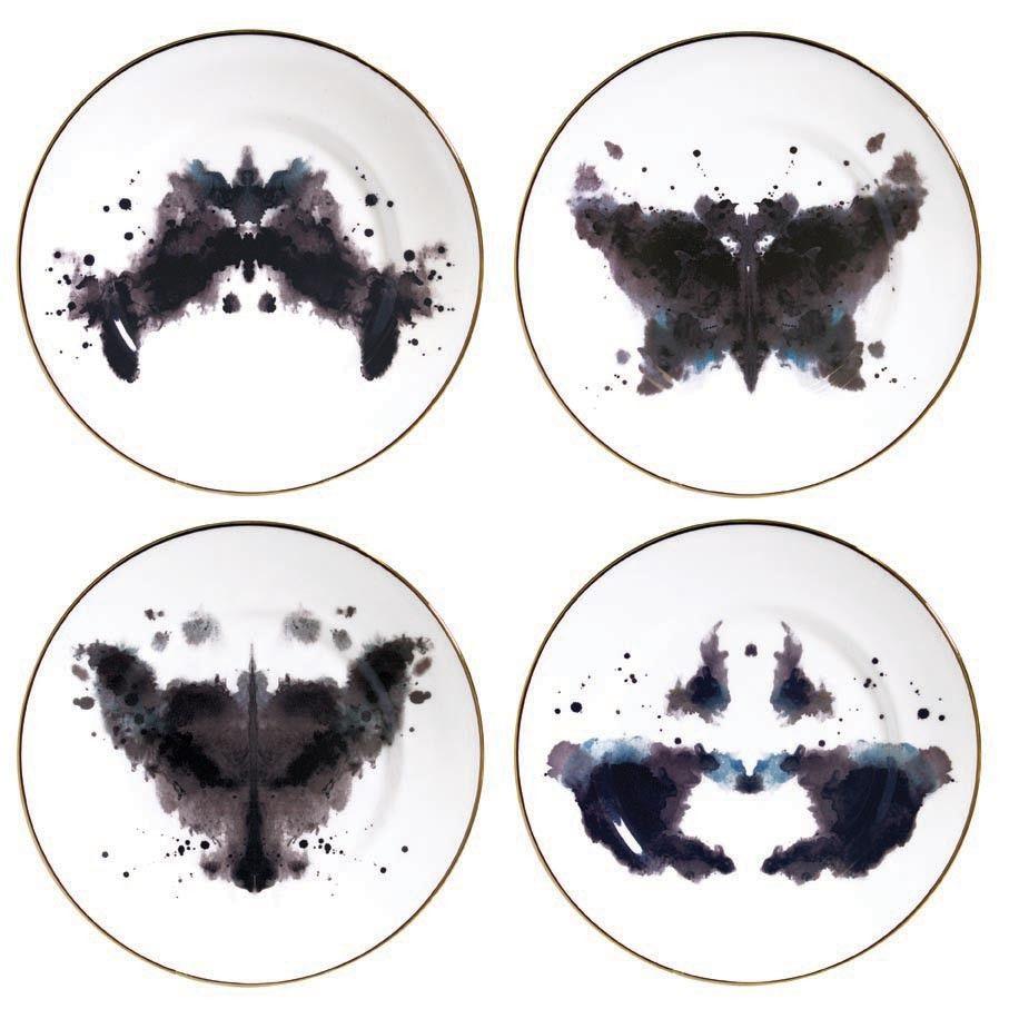 ink blot dinnerwear