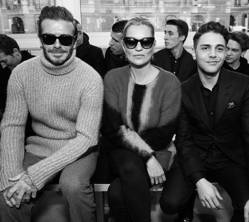 Qui était au premier rang du défilé Louis Vuitton homme automne-hiver 2017-2018 ?