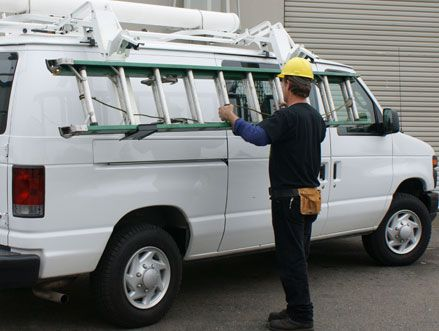 Drop Down Cargo Van Ladder Racks Truck Racks Plus Ladder Rack