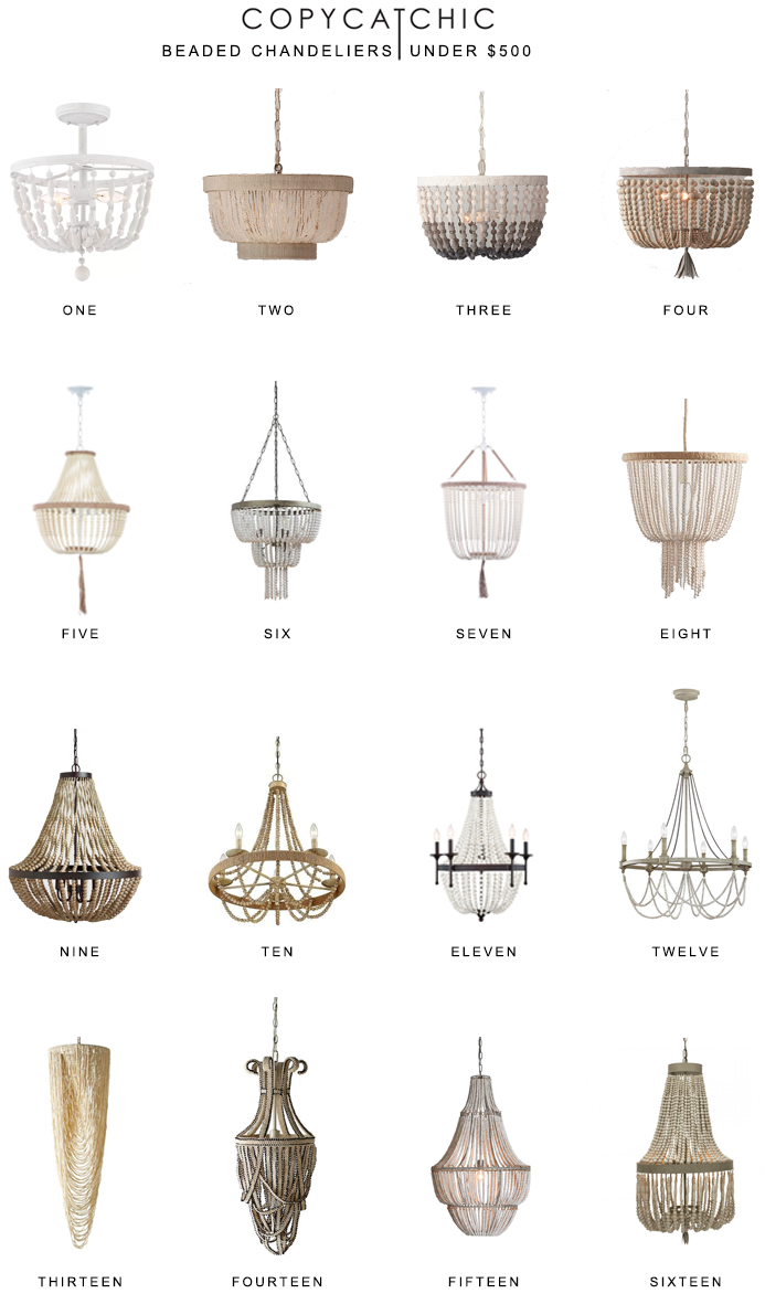 Home Trends | Beaded Chandeliers Under $500 - copycatchic