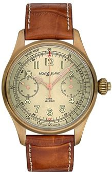 Montblanc 1858 Bronze Chronograph Tachymeter