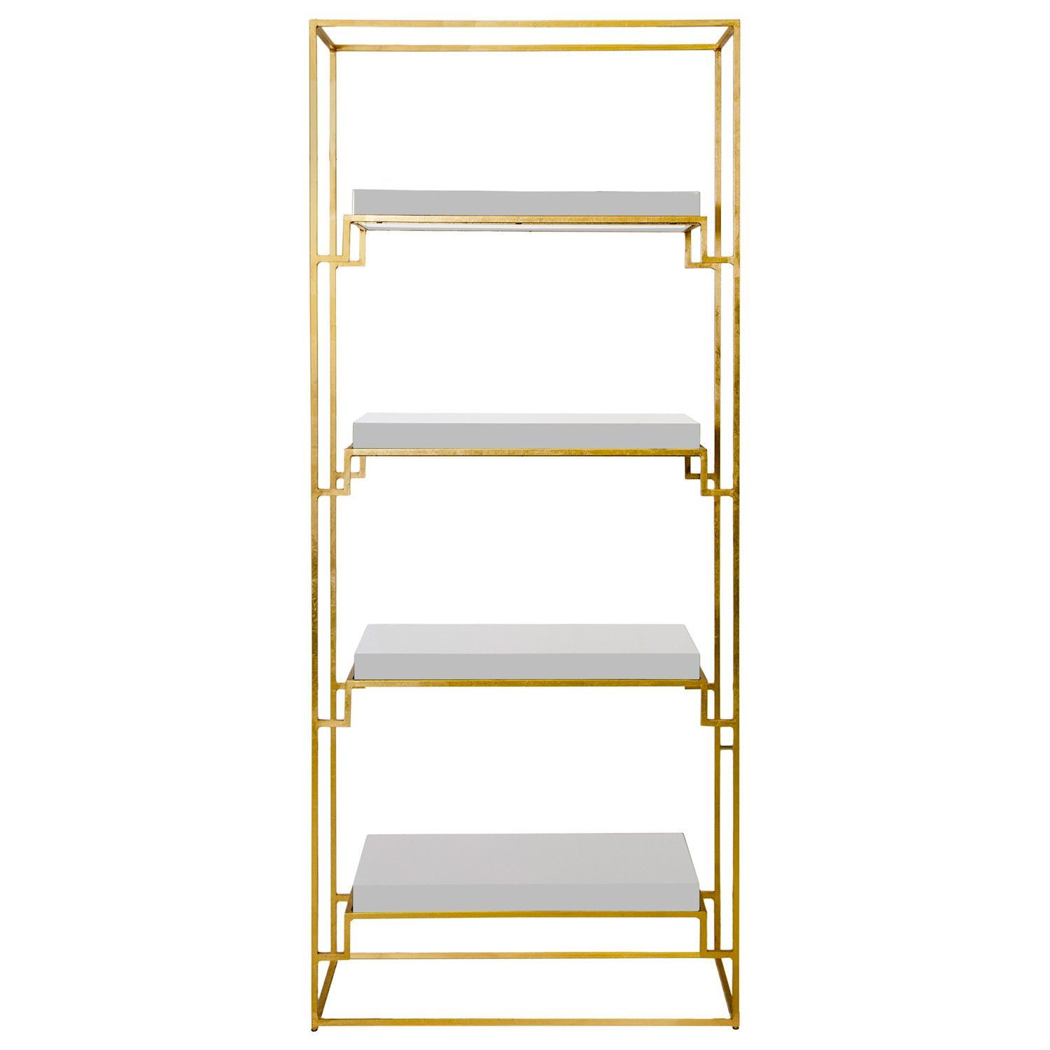 Worlds Away Shadow Etagere