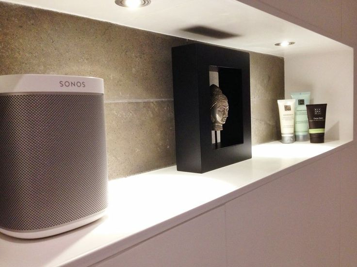 sonos shelf diy - Sök på Google Apartment Accessories - sonos play 1 badezimmer