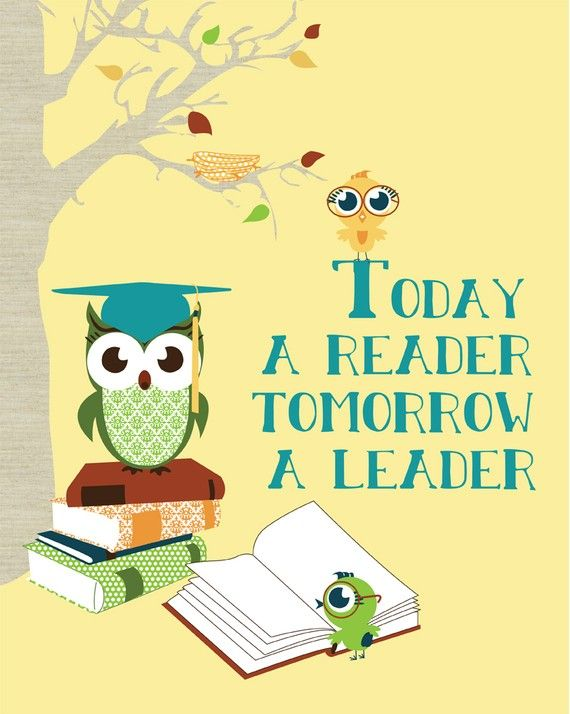 Homeschool Classroom Poster, Reading English Classroom Decor