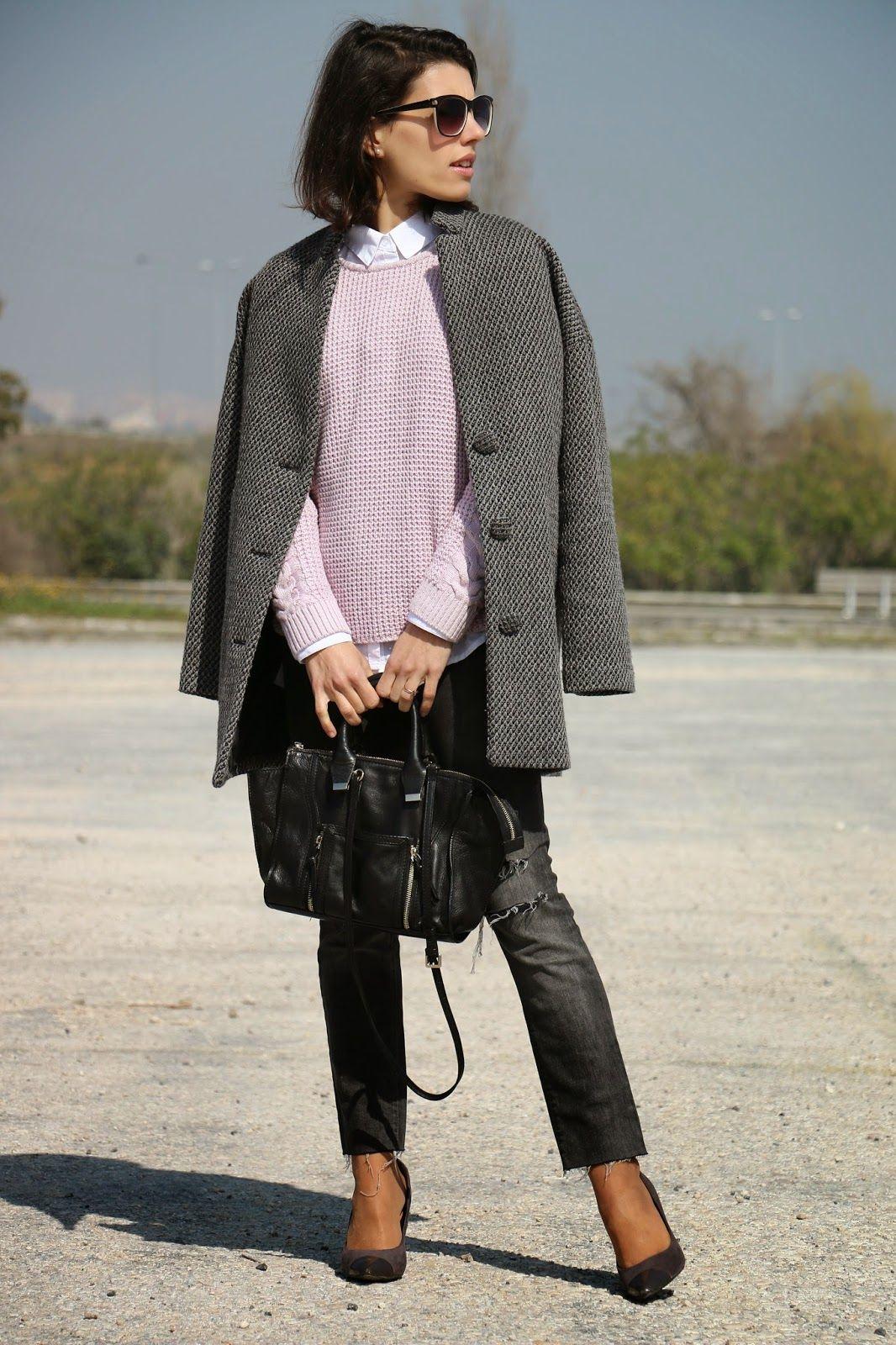 I love Fita Métrica: Purple Knit