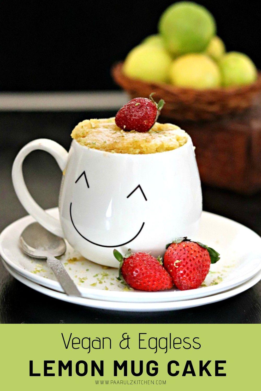 Lemon Mug Cake in 2020   Lemon mug cake, Mug cake ...