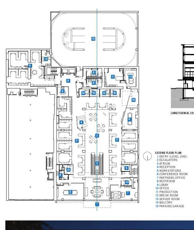 Floor Plan : McGarrah Jessee (Austin) | McKinney York Architects