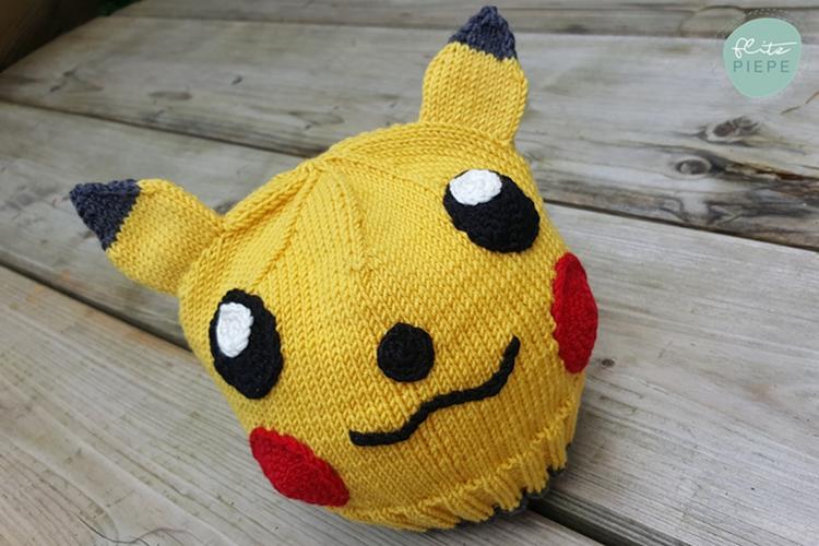 Mützen Handgestrickte Mütze Pokemon Pikachu Ku 52 55 Ein
