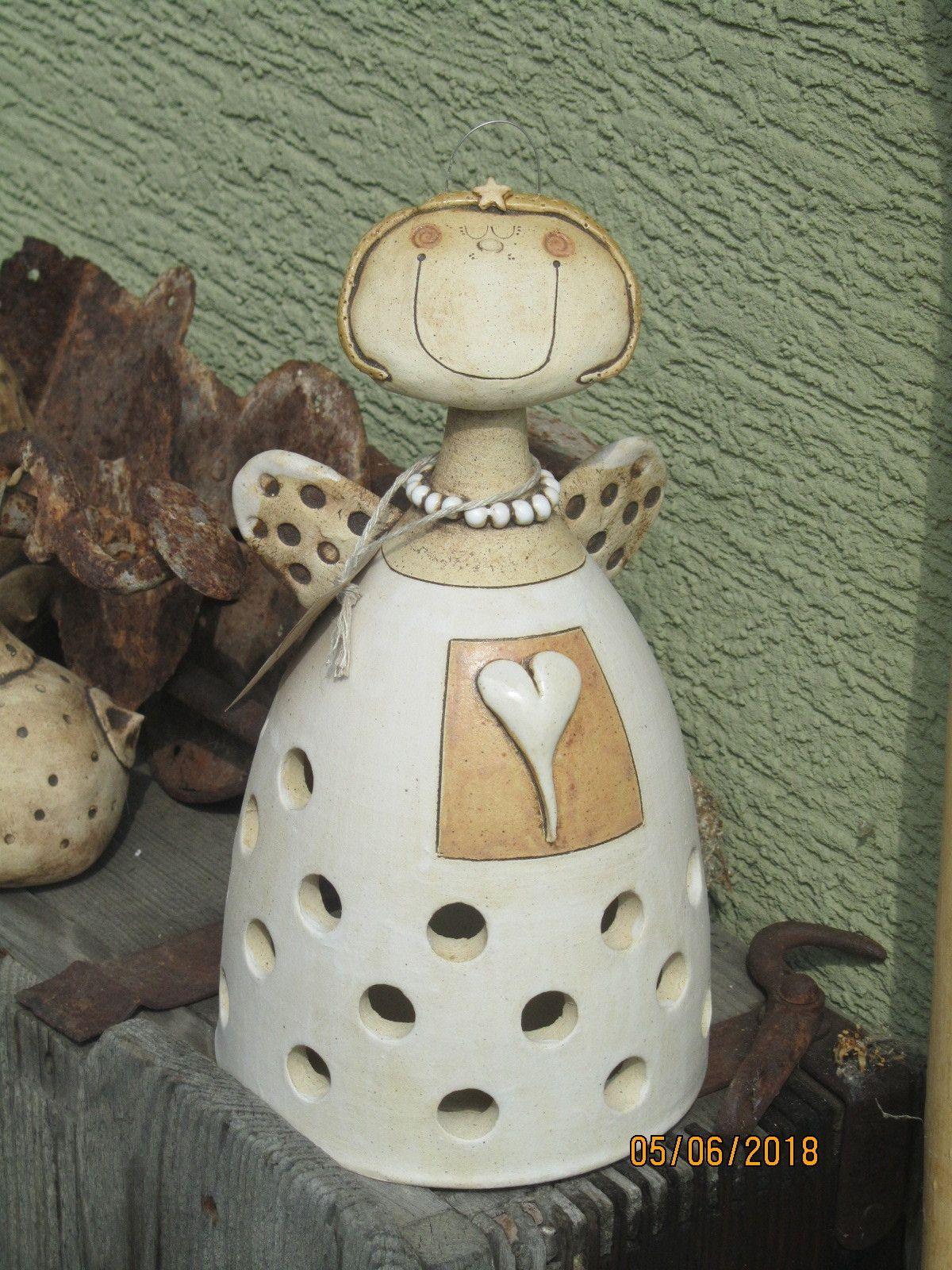 Svícen+Svícen+anděl+na+svíčku.+v+22cm Keramika, Svícny