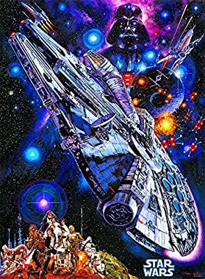 Buffalo Games Star Wars Vintage Art: You're All Clear, Kid - 1000 Piece Jigsaw Puzzle