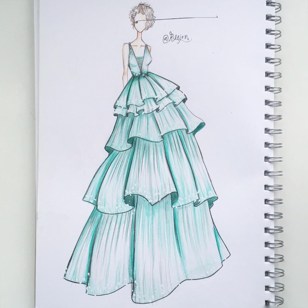 259 Likes 26 Comments Draw Art Fashion Ruejen On Instagram اللهم صل وسلم Fashion Drawing Tutorial Fashion Art Illustration Fashion Design Sketchbook