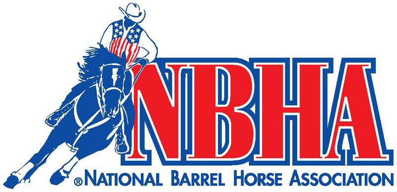 Nbha Logo by Zenas Thompson Barrel horse, Barrel racing