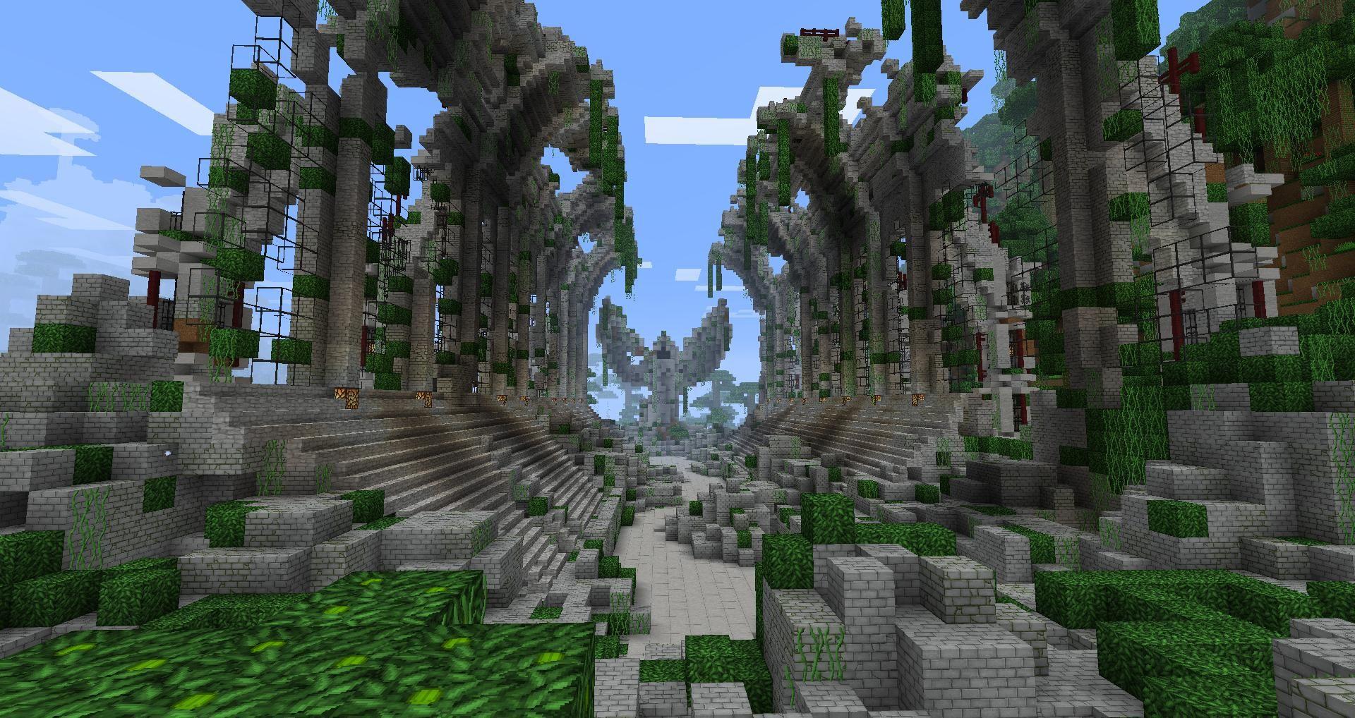 ancient | Minecraft ruins, Minecraft city, Minecraft ...