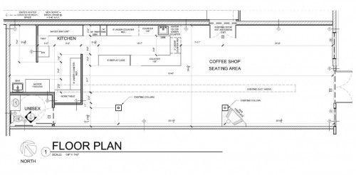 Restaurant And Coffee Shop Floor Plan