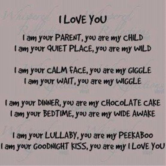 "Love Quotes For Your Daughter Mesmerizing You Are My ""i Love You "".this Goes For My Grandkids Too"