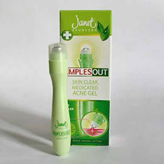 1 Sold More Available Janet Ayurveda Pimples Out Roller Pen