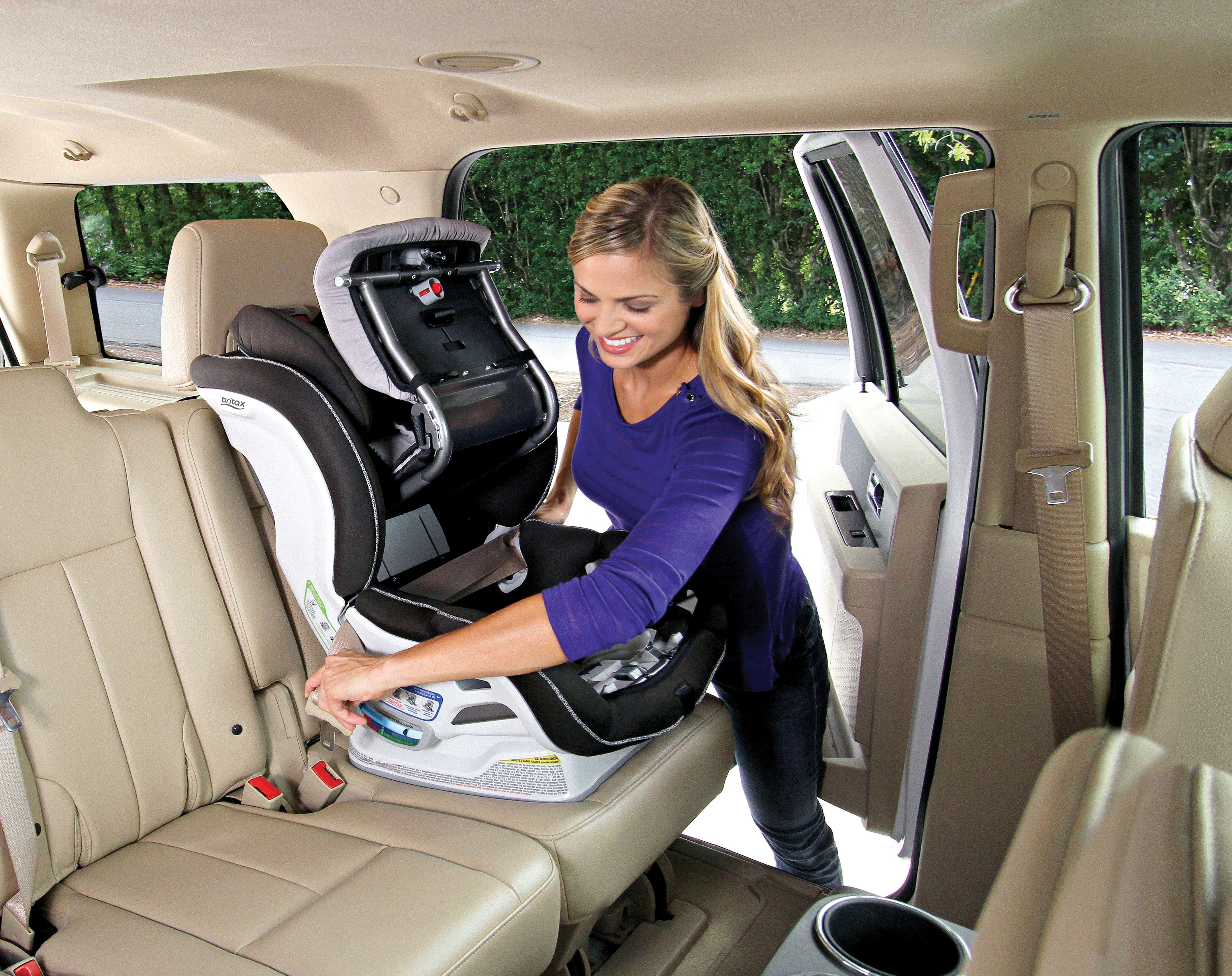 Easy Install and Extra Cozy: Britax ClickTight UltimateComfort ...