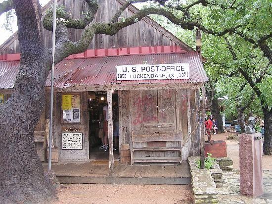 Luckenbach Tx Post Office Picture Of Texas Tripadvisor