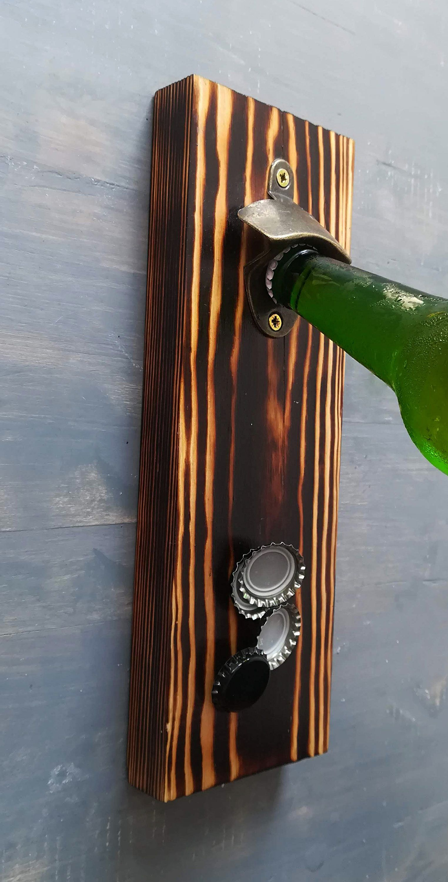 Wooden Beer Opener With Images Etsy Produkty