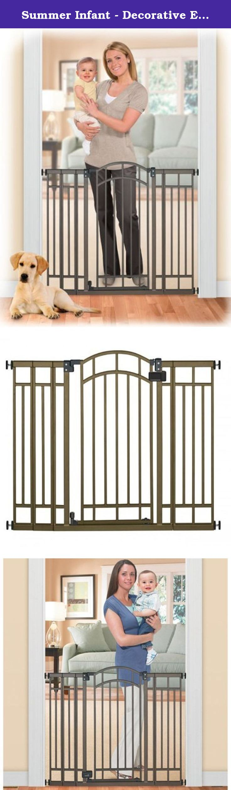 Summer Infant Decorative Extra Tall Gate. Hardware
