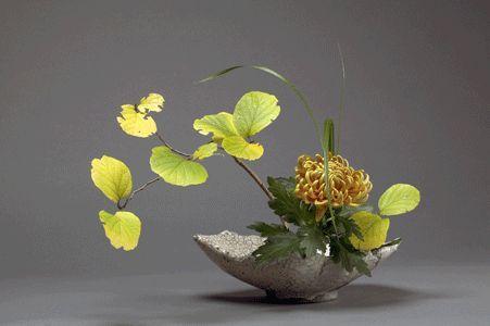 Japanese Ikebana flower arrangement. | Japanese Ikebana | Pinterest