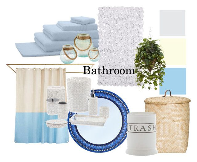 """Bathroom"" by matildejaco on Polyvore featuring interior, interiors, interior design, home, home decor, interior decorating, David Jones, Charter Club, Quiet Town and Bloomingville"