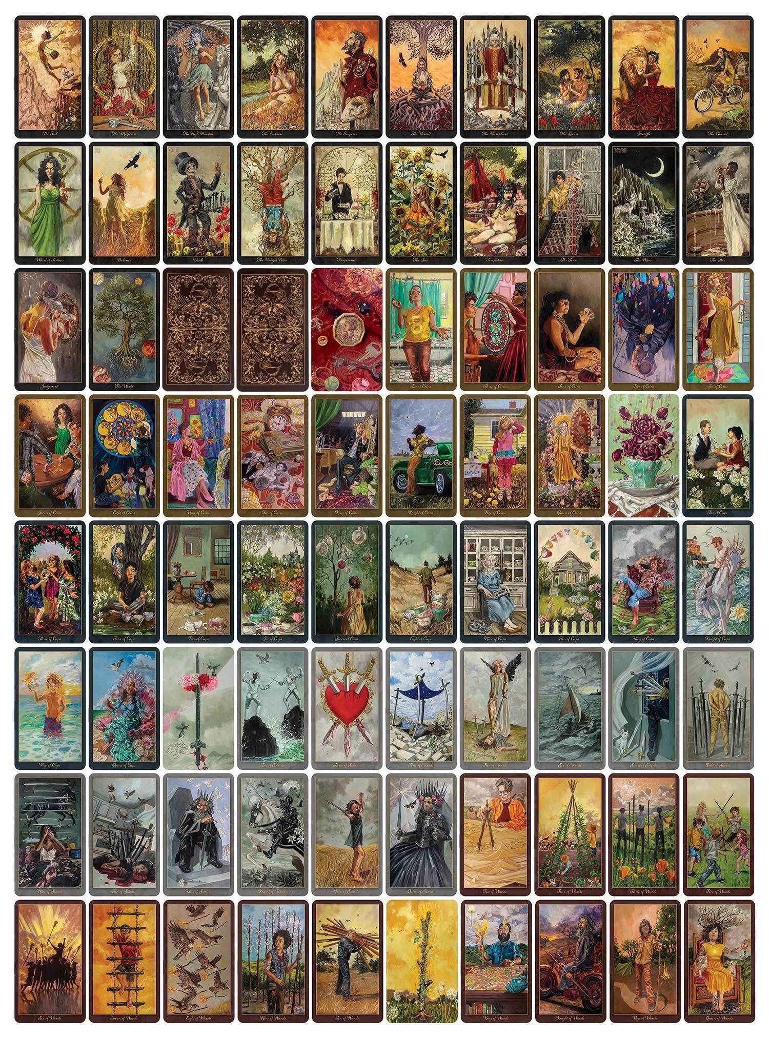 The Slow Tarot In 2020 Tarot Cards Art Unique Tarot Decks The